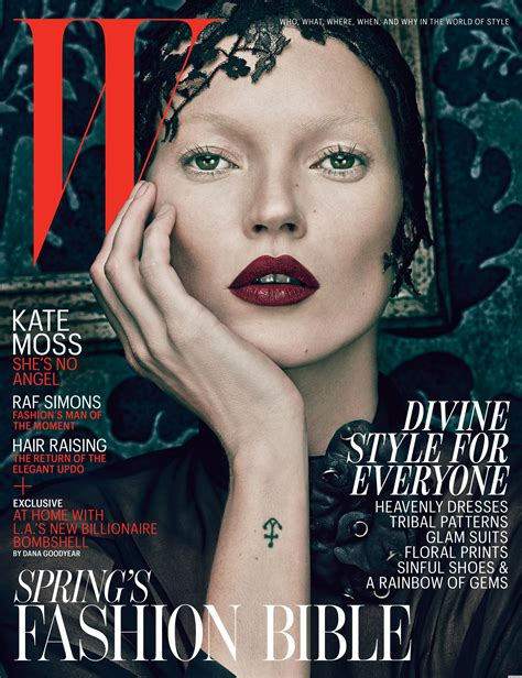 Mag Cover Fashion Faceoff Charlize Vs Kate by Kate Moss Is A On W Magazine Evil Covers