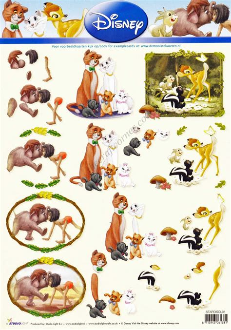 Disney Decoupage - disney classic 1 the jungle book the tr