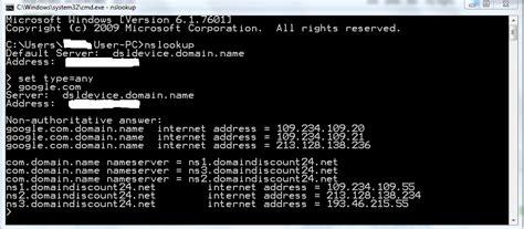 dns poisoned nslookup returns wrong ip address super user