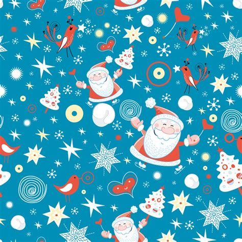 free xmas design merry christmas design seamless background vector graphic