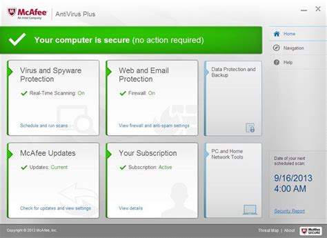 mcafee antivirus plus 2014 review rating pcmag