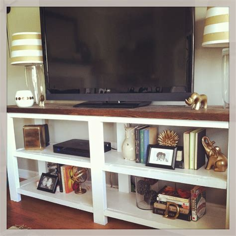 console table tv stand diy tv stand white rustic x console table for the