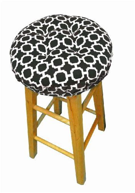 round bar stool slipcovers round indoor outdoor barstool cover with padded cushion