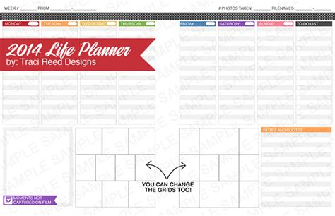 project life printable planner project life planning printables leadership development