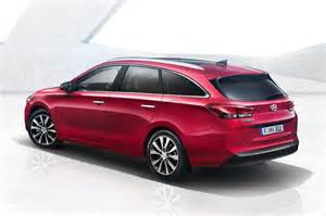 Hyundai Station Wagon 2017 Hyundai I30 Wagon Revealed Has Shooting Brake