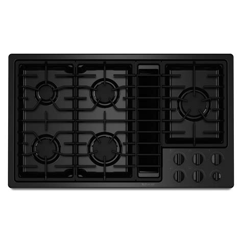 Downdraft Cooktops Jenn Air Jed8230ads 30 Quot Electric Downdraft Cooktop With Bays Sears Outlet