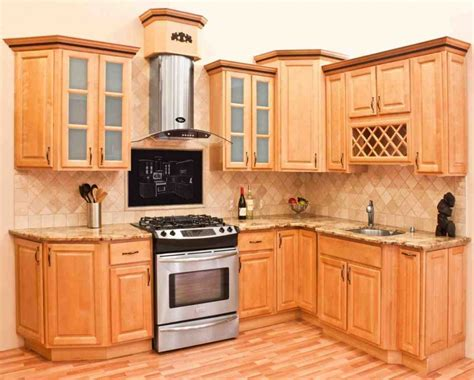 Maple Colored Kitchen Cabinets Maple Wood Cabinets Home Furniture Design