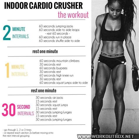 only best 25 ideas about cardio workouts for on