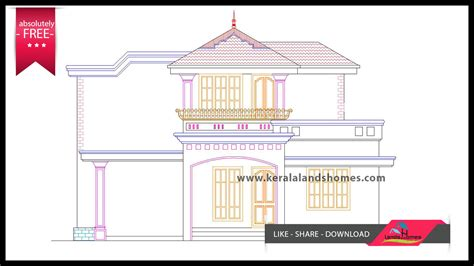 free kerala house plans and elevations free kerala house plans and elevations