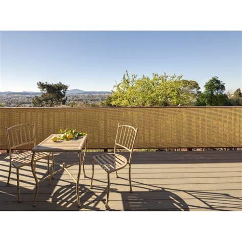 Brise Vue Terrasse Balcon brise vue de style naturel pour prot 233 ger balcon ou