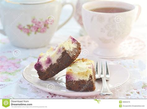 cottage cheese brownies chocolate cottage cheese and raspberry brownies stock