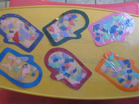 Paper With Preschoolers - 21 best images about tissue paper crafts on