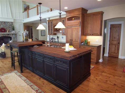 alder kitchen cabinets Archives   North Country Cabinets