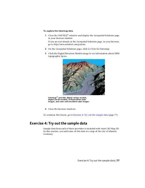 tutorial autocad map 3d autocad map 3d tutorials