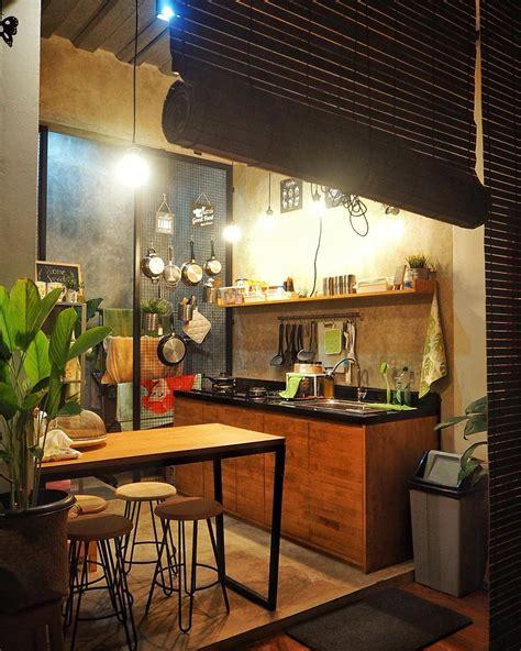ide desain rumah kecil industrial terlengkap desain modern