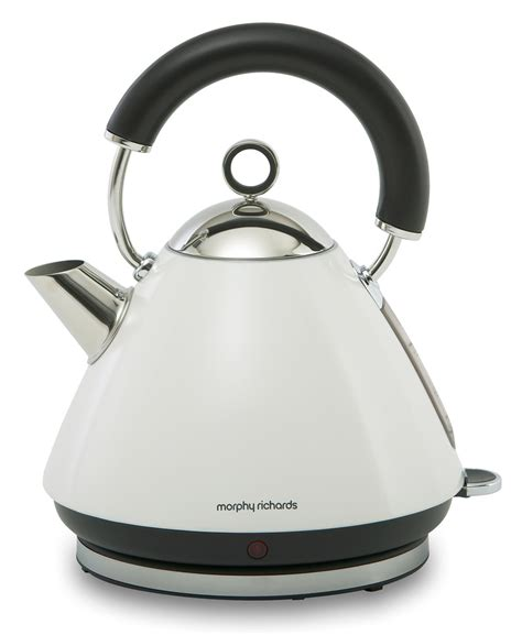 Morphy Richards Accents Toaster Accents White Traditional Kettle Electric Kettles