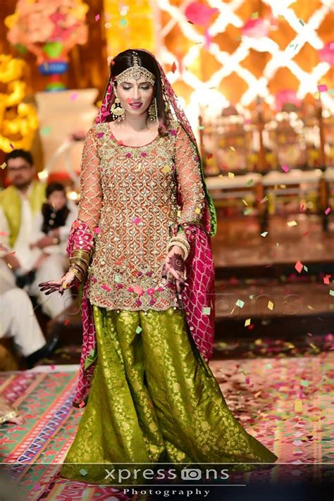 latest bridal mehndi dress design trends collection
