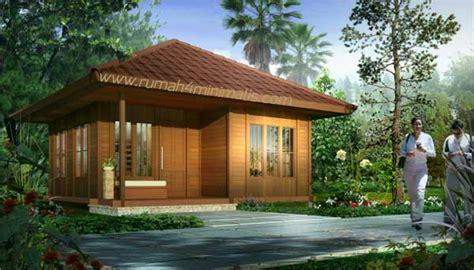5 gambar rumah kayu gambar desain model rumah minimalis