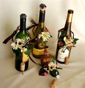 wine bottles for centerpieces items similar to wine bottle topper centerpieces wine