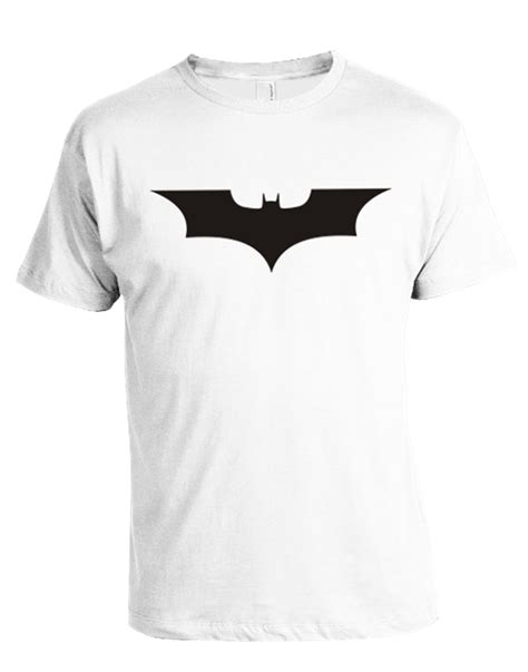 Tshirt Batman White batman t shirt black logo house ink