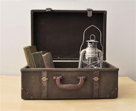 Decorative Suitcase by Vintage Trunk Suitcase For Rustic Decor