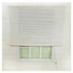 Home Depot Patio Blinds Lewis Hyman White Interior Exterior Roll Up Patio Sun