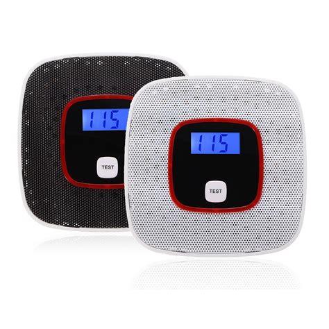 Alarm Gas lcd 0 999ppm co carbon monoxide gas alarm sensor poisoning smoke gas tester detector alex nld