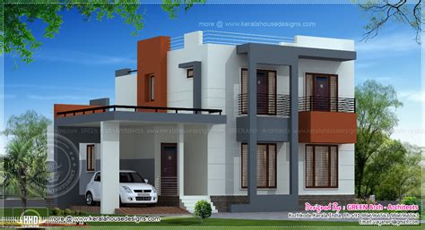 cost to paint 2000 sq ft house interior india house plan in modern style keralahousedesigns