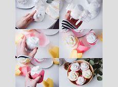 Windel Cupcakes Anleitung: Süße Alternative zur Windeltorte Lillydoo