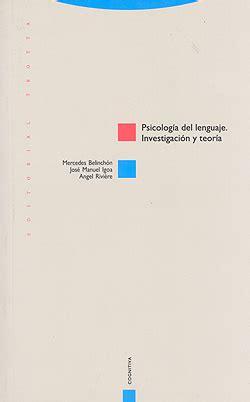 teora del lenguaje musical 8495262657 psicolog 237 a del lenguaje investigaci 243 n y teor 237 a mercedes belich 243 n j