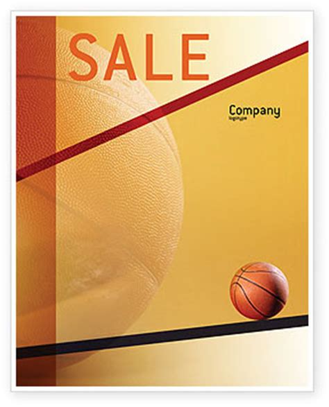 Before Basketball Game Flyer Template Background In Microsoft Word Publisher And Illustrator Basketball Poster Template