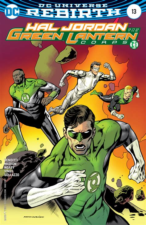 Dc Comics Hal And The Green Lantern Corps 8 January 2017 dc comics rebirth spoilers hal the green lantern corps 13 reveals the future green
