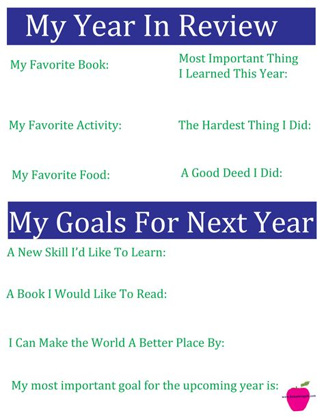new year goal setting reflection and goal setting pink apple