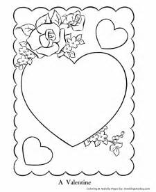teaching frenzy valentine 2014 colouring pages