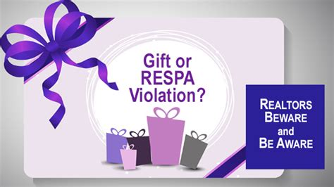 Federal Gift Card Law - when does accepting a gift card violate federal law berkshirerealtors
