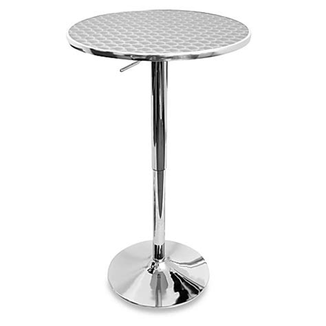 Bed Bath And Beyond Bistro Table Lumisource Airlift Adjustable Bistro Table Bed Bath Beyond