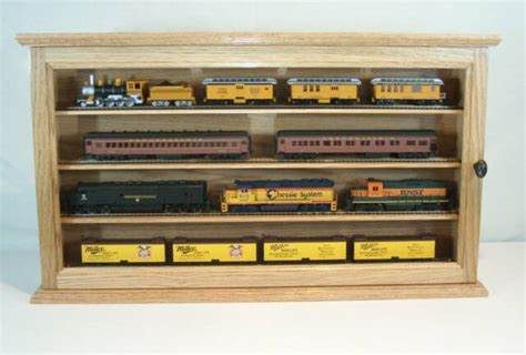 scale model display cabinet mod this is o scale model train display cases