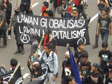 milisi anti penindasan kapitalisme modern