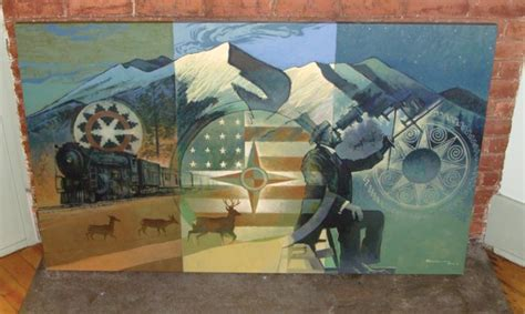photos beaverdale s centennial celebration mural painter set to begin a giant arizona centennial mural