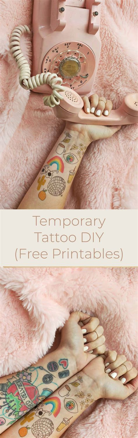 how to get temporary tattoos off how to make temporary tattoos a beautiful mess