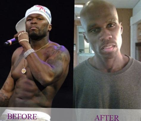 celebrity 50 cent weight changes photos video
