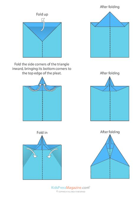 printable paper airplane directions paper airplane instructions the delta