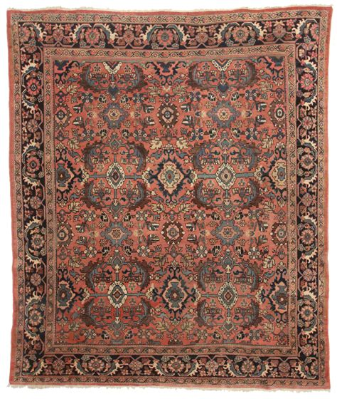 8 x 10 wool rug 8 x 10 antique mahal wool rug 12109 exclusive rugs