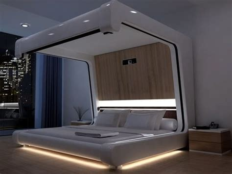 futuristic bed futuristic bedroom just awesome