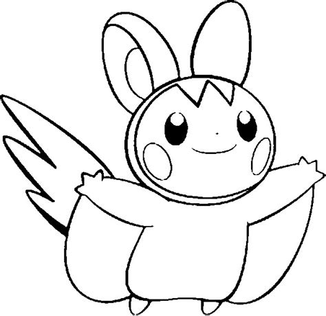 pokemon coloring page dedenne dibujos para colorear pokemon emolga dibujos pokemon