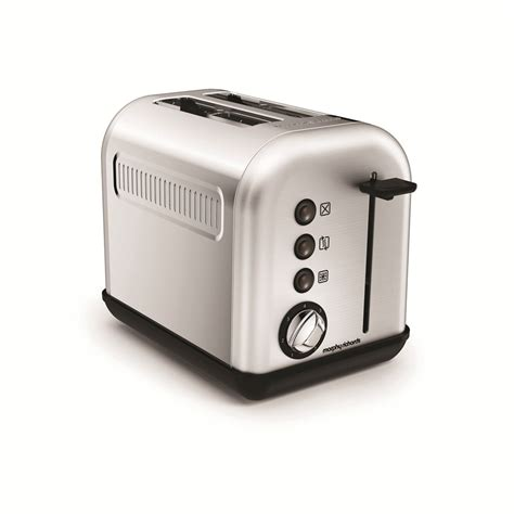 Brushed Stainless Steel Kettle And 4 Slice Toaster Set Accents Brushed 2 Slice Toaster By Morphy Richards