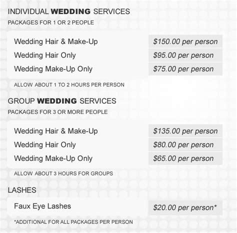 average cost of wedding hair uk cost of wedding hair and makeup uk saubhaya makeup
