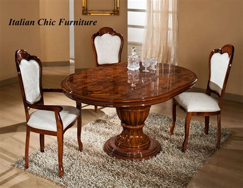 italian dining table and chairs elizabeth extendable dining table and 4 chairs