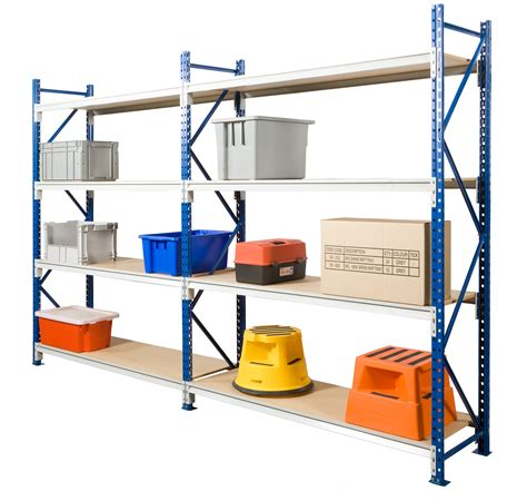 Home Shelving Systems Ultimate Longspan Shelving With Timber Shelves All Storage