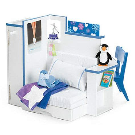 ag doll beds american girl doll mia s bedroom accessories for room bed chair furniture ebay
